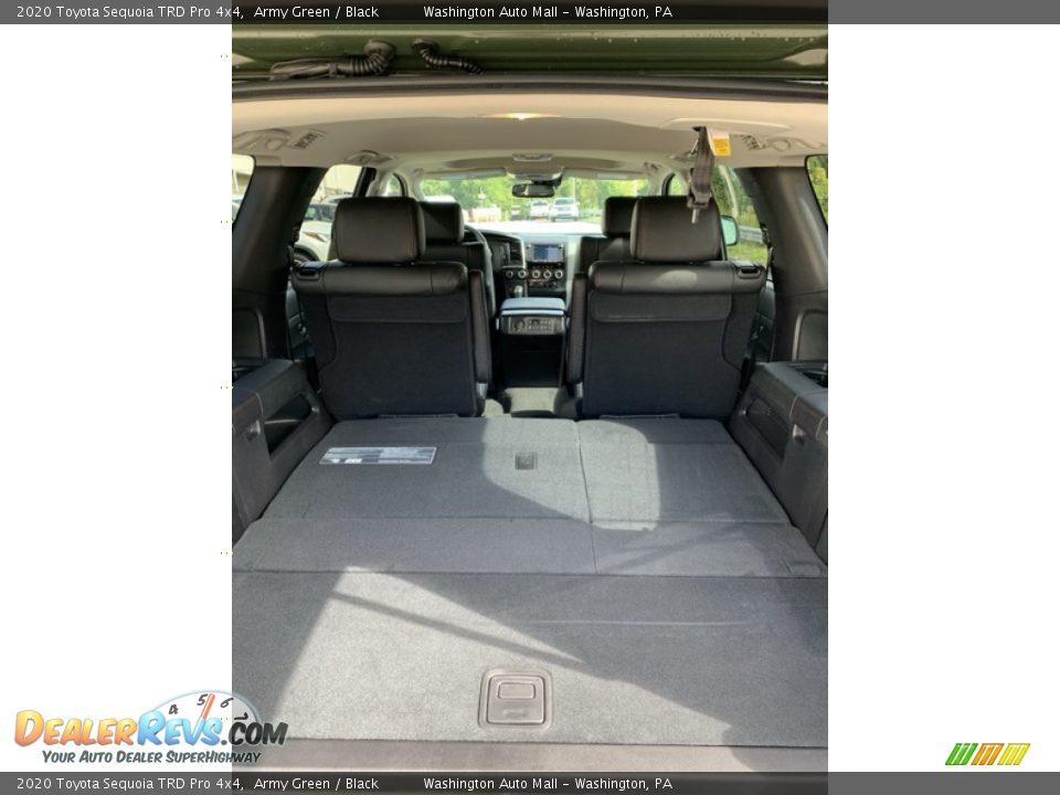 2020 Toyota Sequoia TRD Pro 4x4 Trunk Photo #23