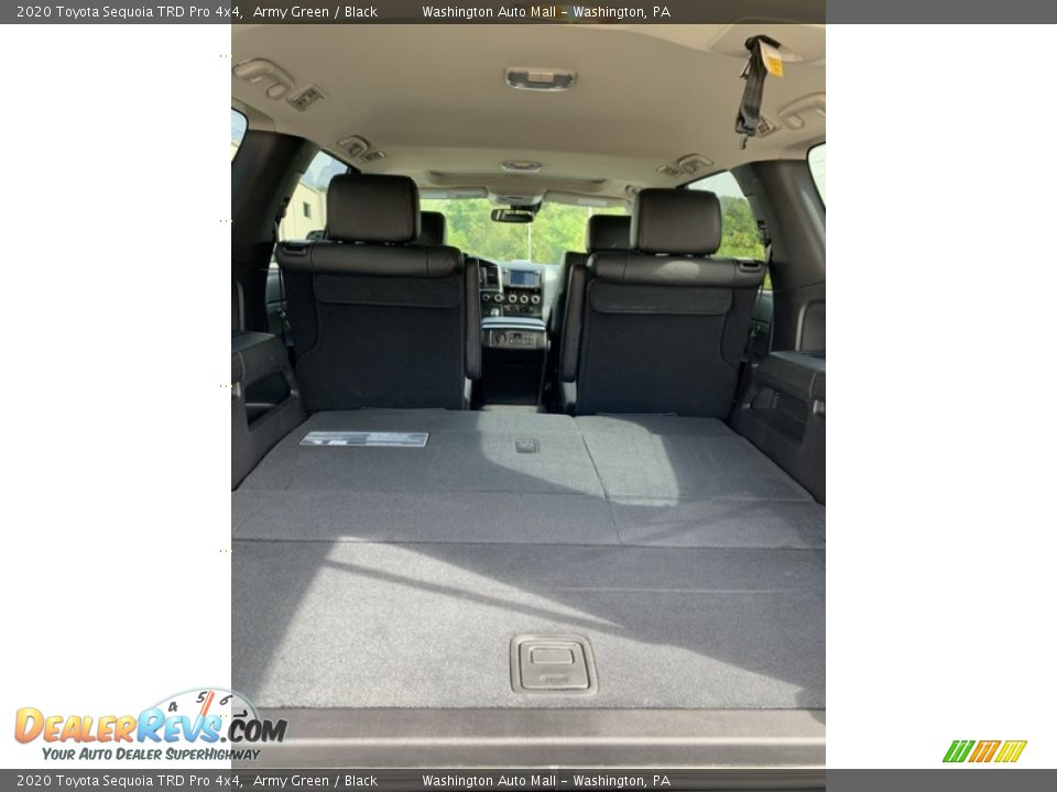 2020 Toyota Sequoia TRD Pro 4x4 Trunk Photo #24