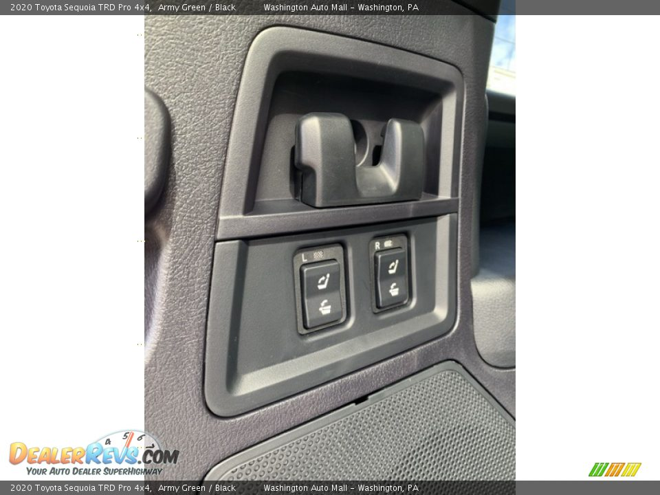 Controls of 2020 Toyota Sequoia TRD Pro 4x4 Photo #25