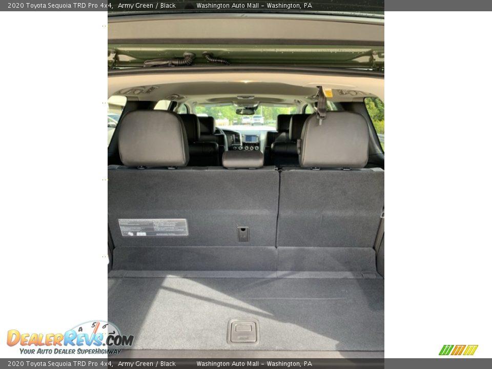 2020 Toyota Sequoia TRD Pro 4x4 Trunk Photo #26