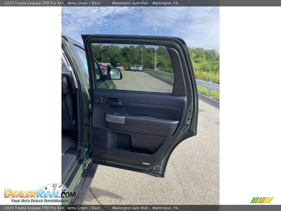 2020 Toyota Sequoia TRD Pro 4x4 Army Green / Black Photo #28