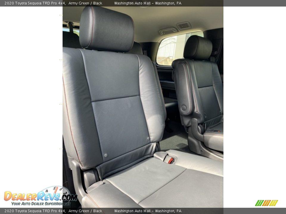 Rear Seat of 2020 Toyota Sequoia TRD Pro 4x4 Photo #29