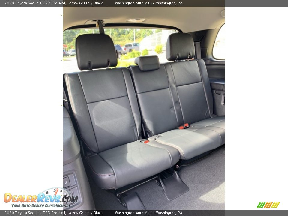 Rear Seat of 2020 Toyota Sequoia TRD Pro 4x4 Photo #30