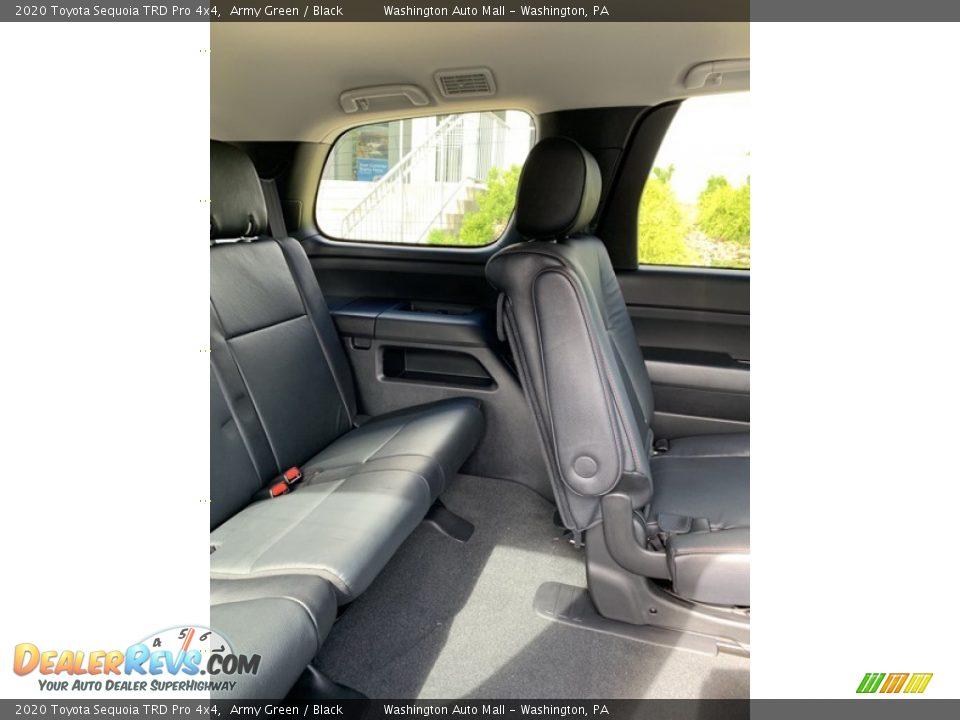 Rear Seat of 2020 Toyota Sequoia TRD Pro 4x4 Photo #31