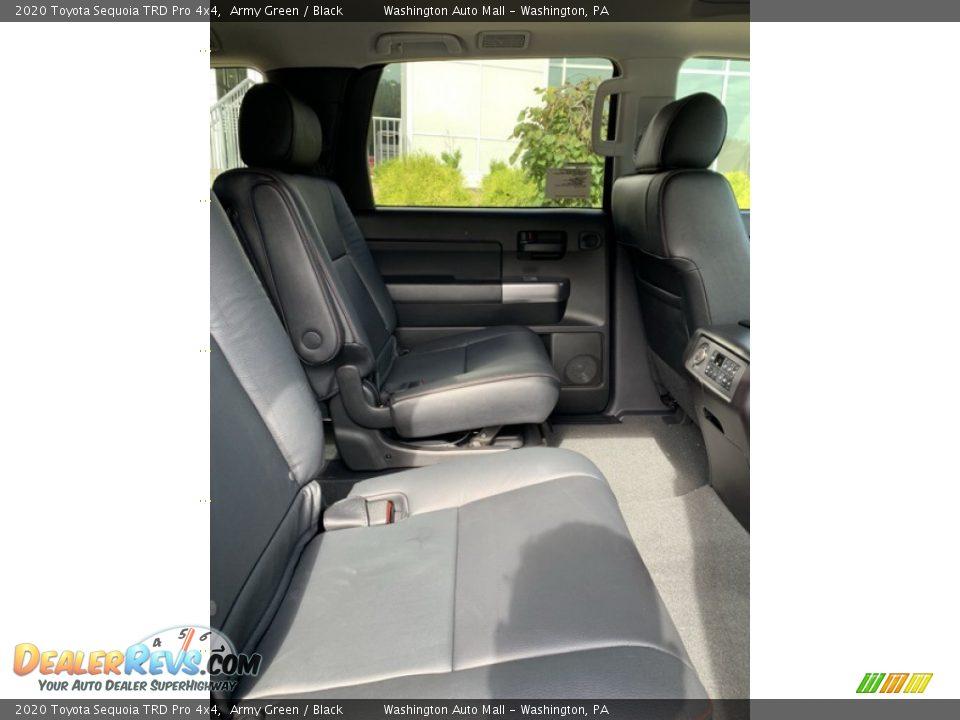 2020 Toyota Sequoia TRD Pro 4x4 Army Green / Black Photo #32