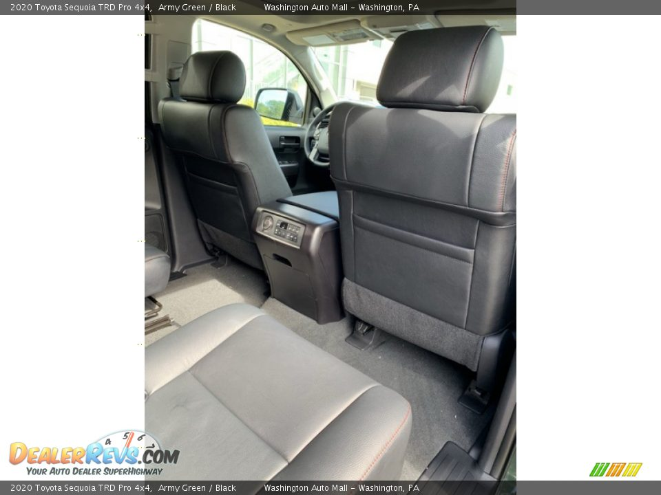 Rear Seat of 2020 Toyota Sequoia TRD Pro 4x4 Photo #33