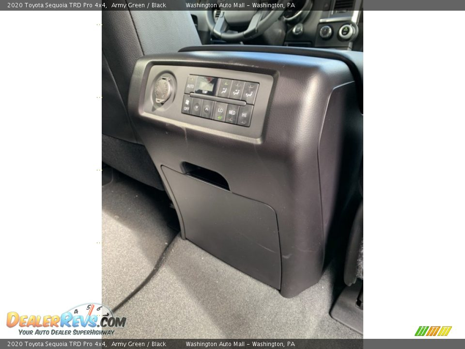 Controls of 2020 Toyota Sequoia TRD Pro 4x4 Photo #34