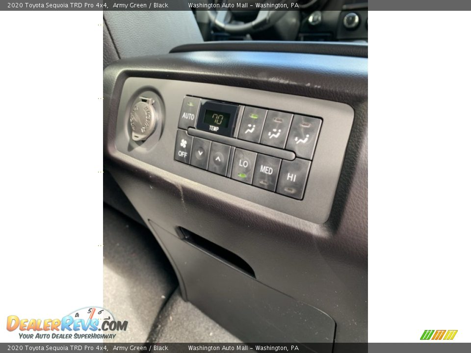 Controls of 2020 Toyota Sequoia TRD Pro 4x4 Photo #35