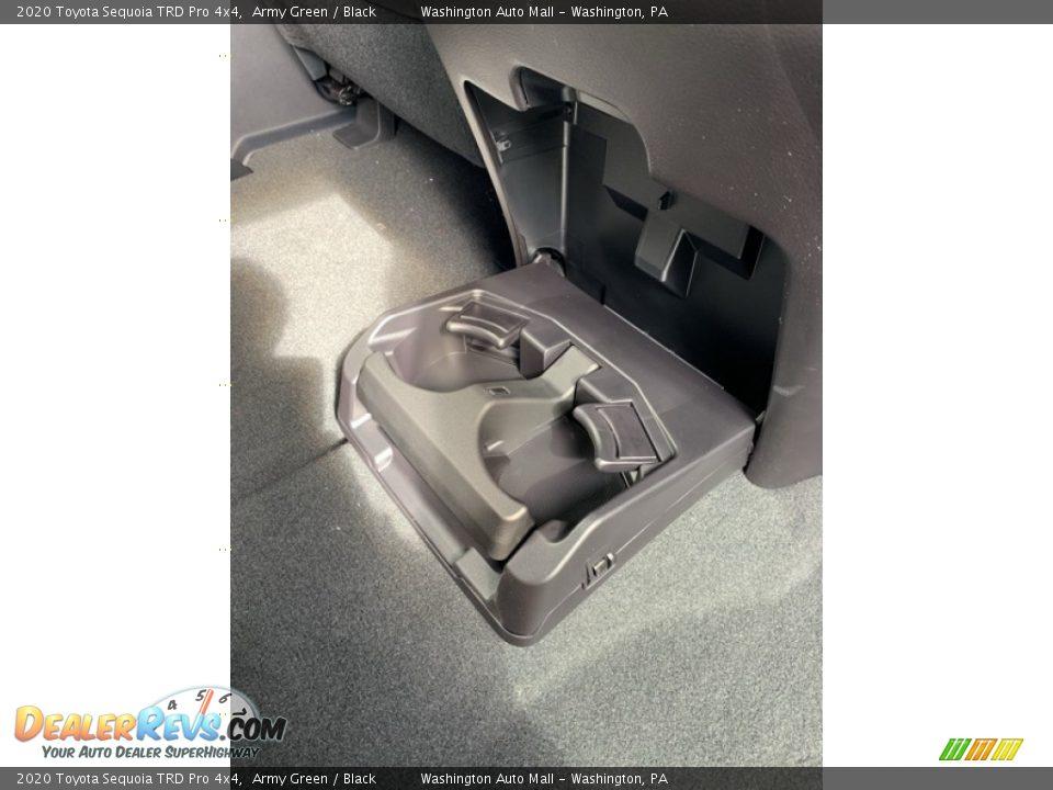 2020 Toyota Sequoia TRD Pro 4x4 Army Green / Black Photo #36