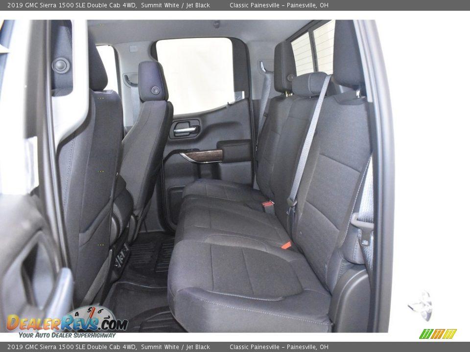 2019 GMC Sierra 1500 SLE Double Cab 4WD Summit White / Jet Black Photo #7
