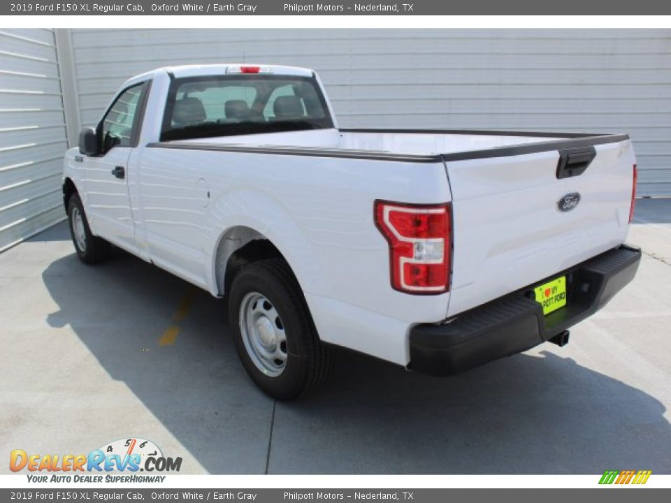 2019 Ford F150 XL Regular Cab Oxford White / Earth Gray Photo #6