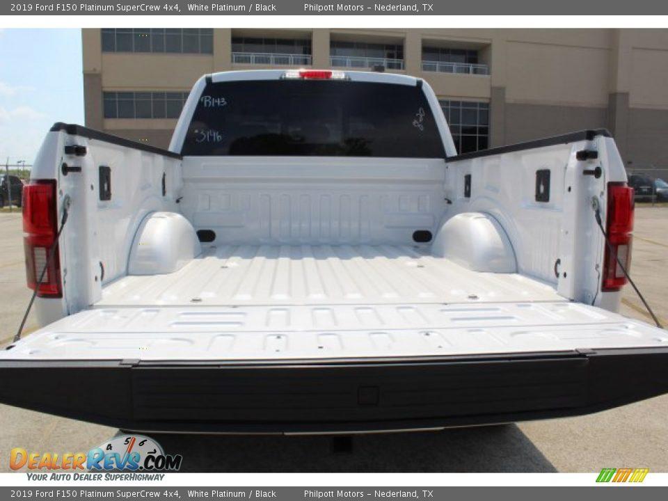 2019 Ford F150 Platinum SuperCrew 4x4 White Platinum / Black Photo #24