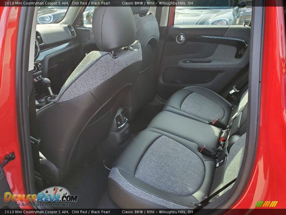 Rear Seat of 2019 Mini Countryman Cooper S All4 Photo #7