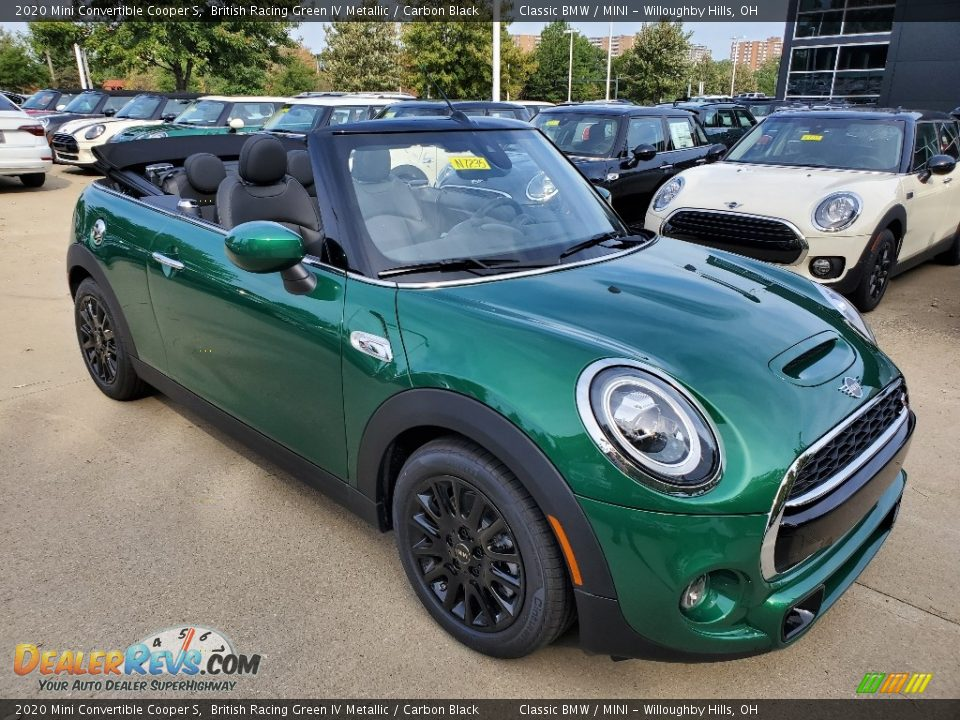Front 3/4 View of 2020 Mini Convertible Cooper S Photo #1