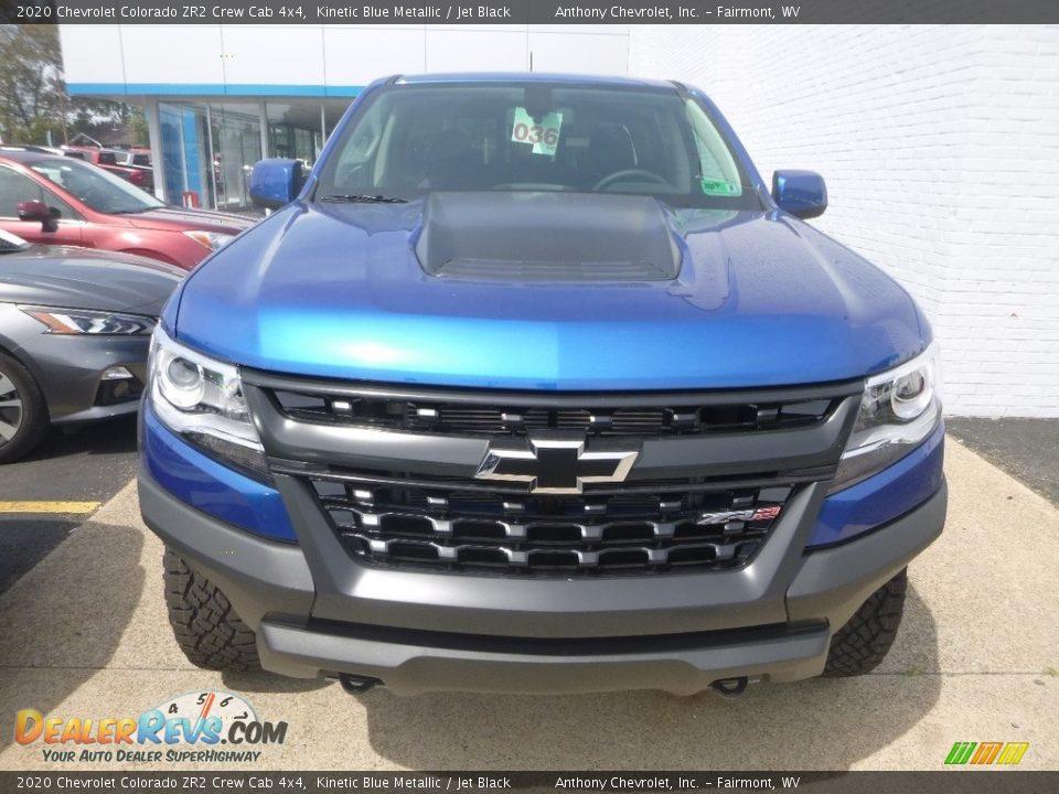 2020 Chevrolet Colorado ZR2 Crew Cab 4x4 Kinetic Blue Metallic / Jet Black Photo #7