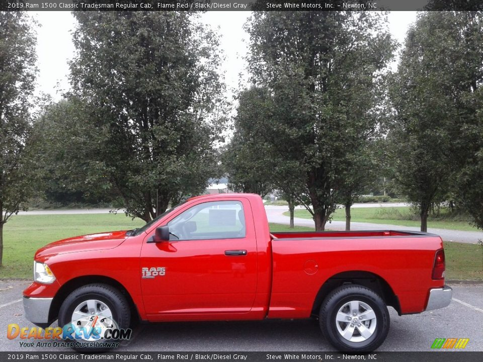 Flame Red 2019 Ram 1500 Classic Tradesman Regular Cab Photo #1
