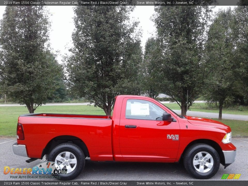 Flame Red 2019 Ram 1500 Classic Tradesman Regular Cab Photo #5