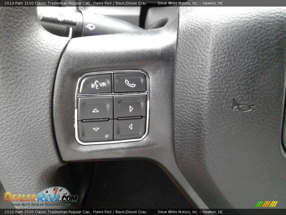 2019 Ram 1500 Classic Tradesman Regular Cab Steering Wheel Photo #15