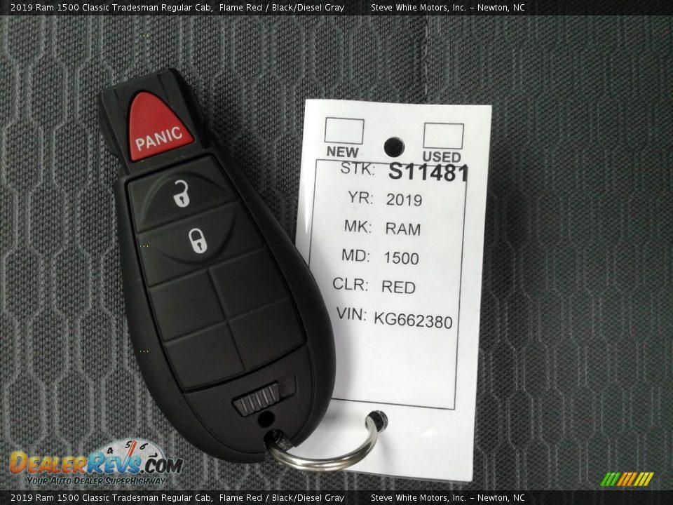 Keys of 2019 Ram 1500 Classic Tradesman Regular Cab Photo #25