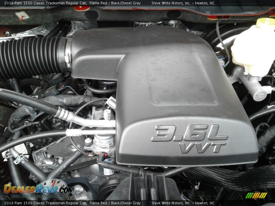 2019 Ram 1500 Classic Tradesman Regular Cab 3.6 Liter DOHC 24-Valve VVT Pentastar V6 Engine Photo #26
