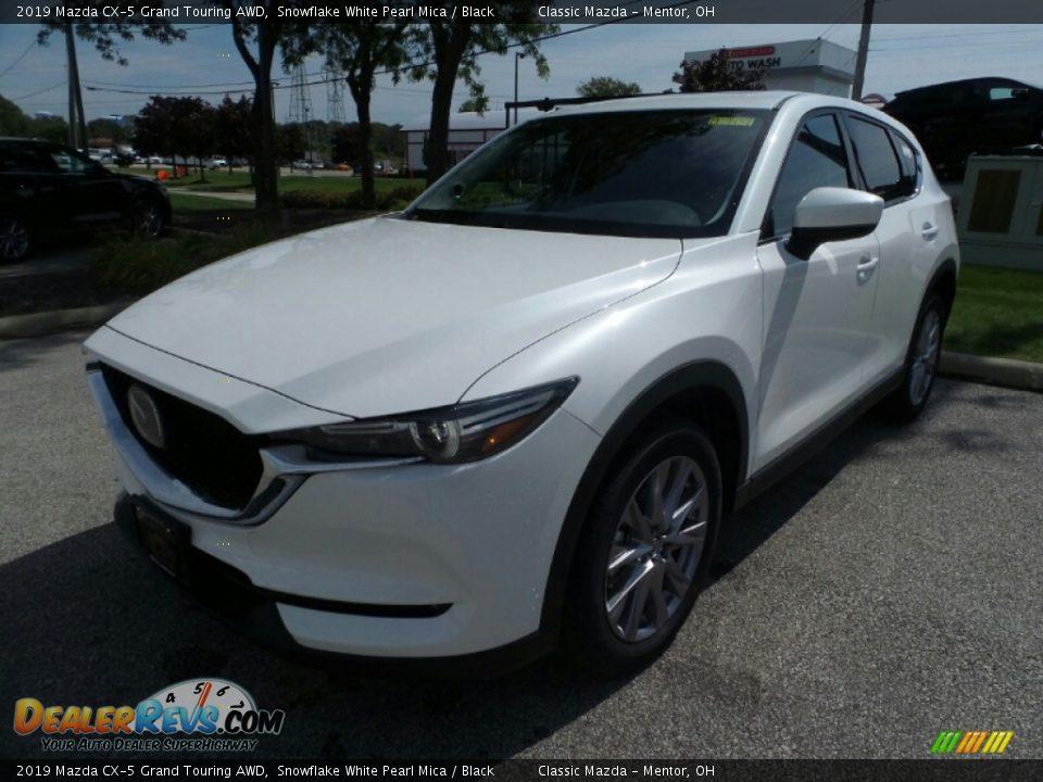 2019 Mazda CX-5 Grand Touring AWD Snowflake White Pearl Mica / Black Photo #3