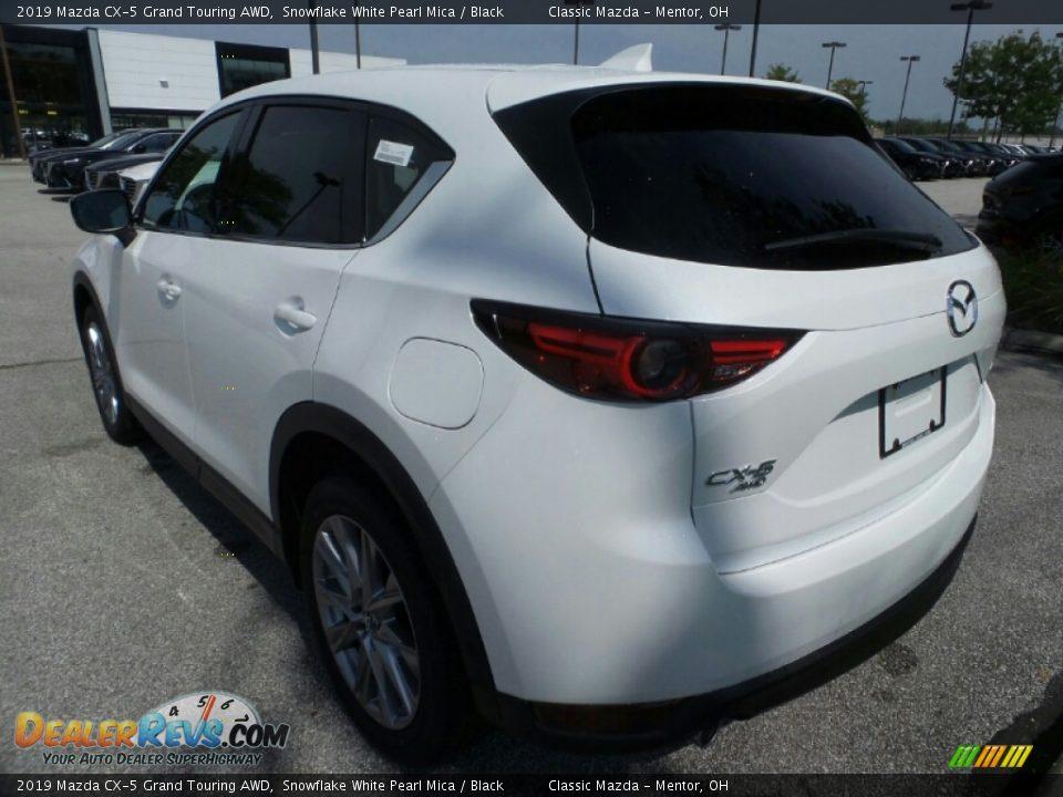 2019 Mazda CX-5 Grand Touring AWD Snowflake White Pearl Mica / Black Photo #5