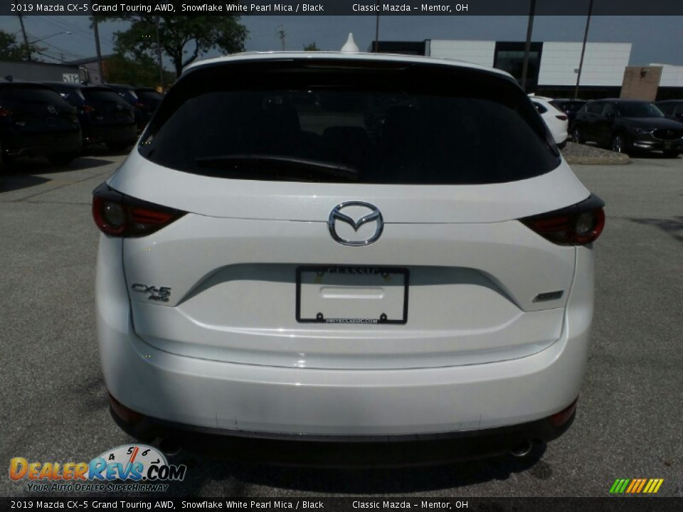 2019 Mazda CX-5 Grand Touring AWD Snowflake White Pearl Mica / Black Photo #6