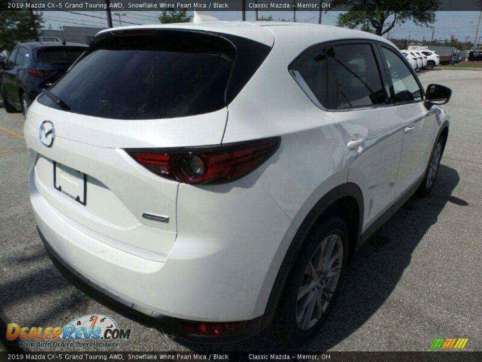 2019 Mazda CX-5 Grand Touring AWD Snowflake White Pearl Mica / Black Photo #7