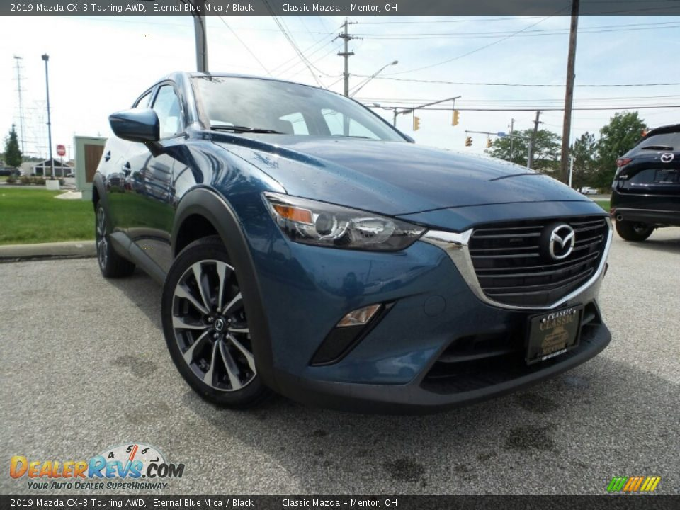2019 Mazda CX-3 Touring AWD Eternal Blue Mica / Black Photo #1