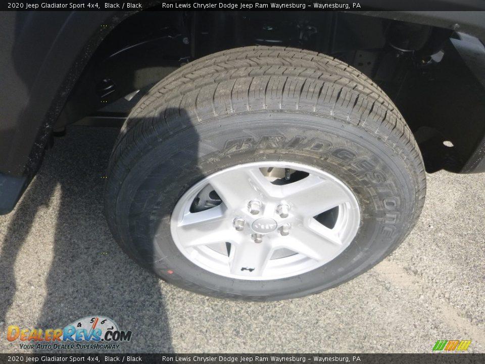 2020 Jeep Gladiator Sport 4x4 Black / Black Photo #9