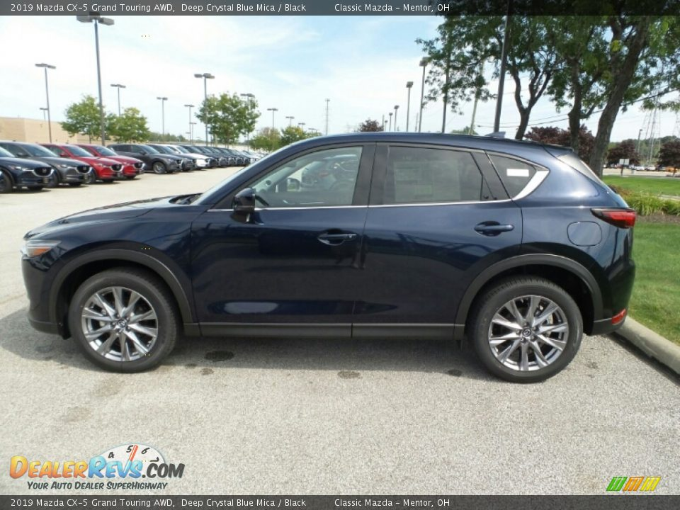 Deep Crystal Blue Mica 2019 Mazda CX-5 Grand Touring AWD Photo #4