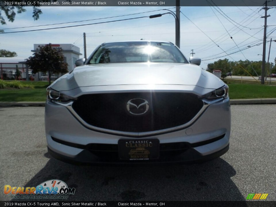 2019 Mazda CX-5 Touring AWD Sonic Silver Metallic / Black Photo #2