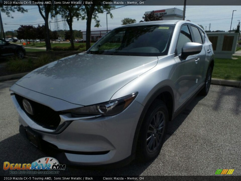 2019 Mazda CX-5 Touring AWD Sonic Silver Metallic / Black Photo #3