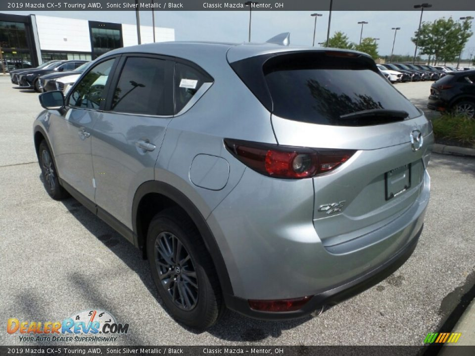 2019 Mazda CX-5 Touring AWD Sonic Silver Metallic / Black Photo #5
