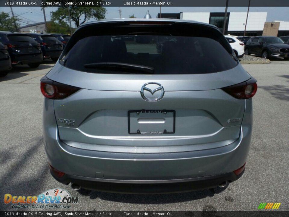 2019 Mazda CX-5 Touring AWD Sonic Silver Metallic / Black Photo #6