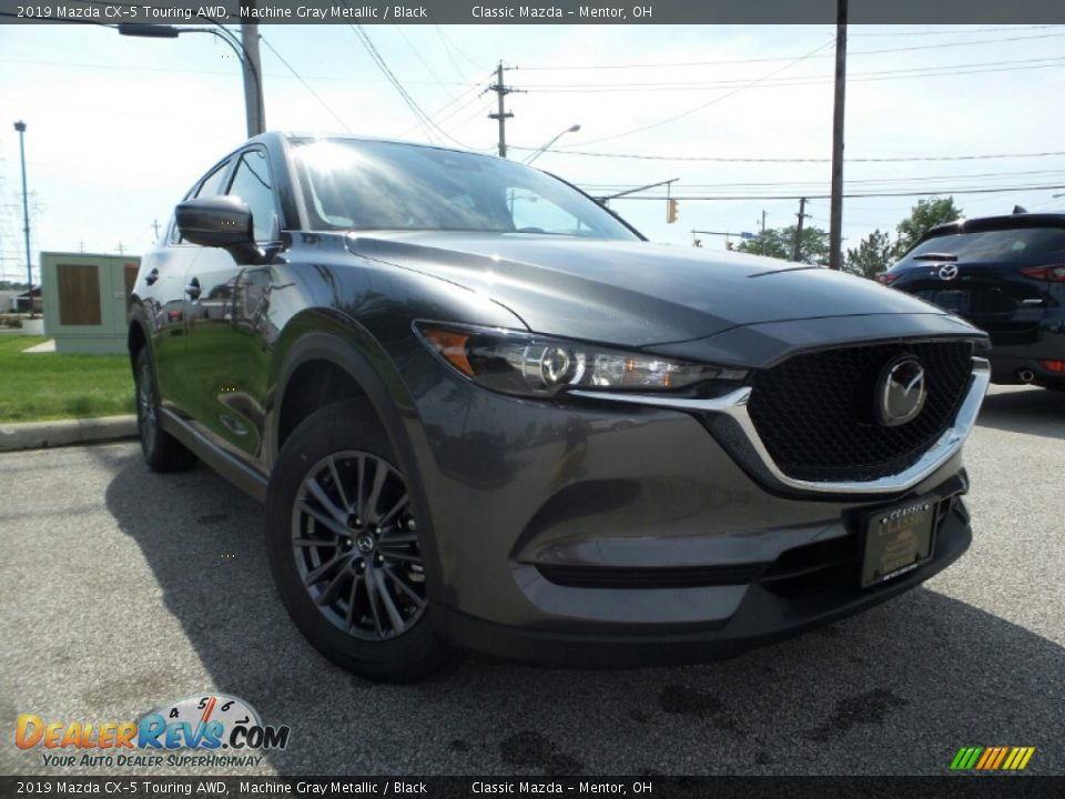 2019 Mazda CX-5 Touring AWD Machine Gray Metallic / Black Photo #1