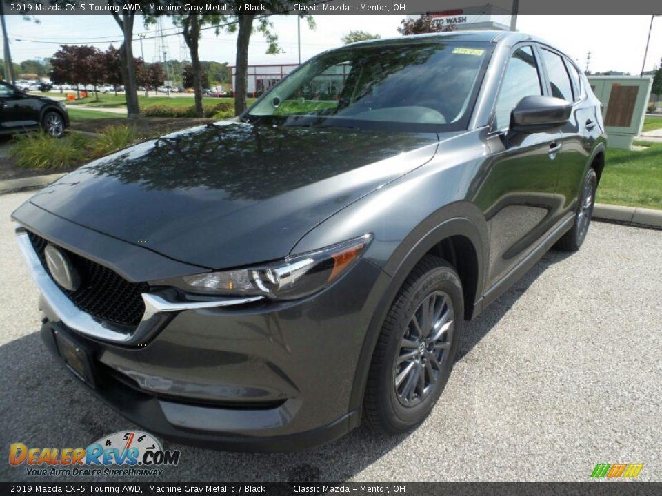 2019 Mazda CX-5 Touring AWD Machine Gray Metallic / Black Photo #3