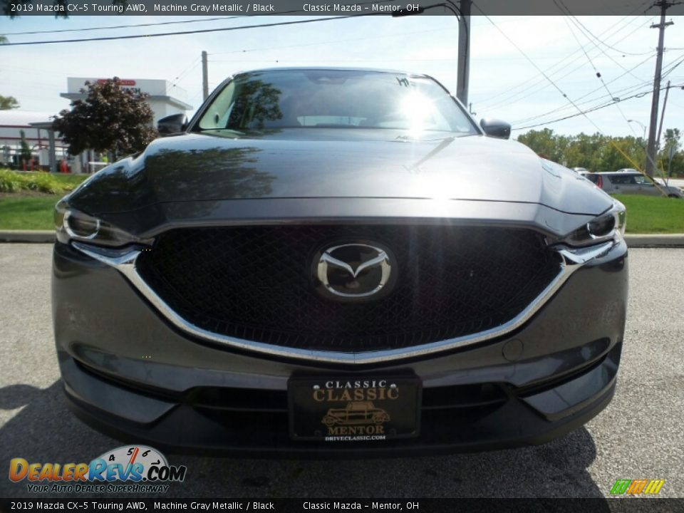 2019 Mazda CX-5 Touring AWD Machine Gray Metallic / Black Photo #2