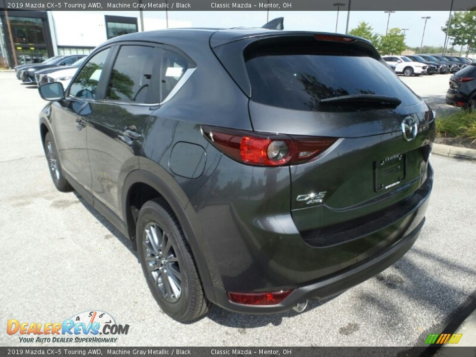 2019 Mazda CX-5 Touring AWD Machine Gray Metallic / Black Photo #5