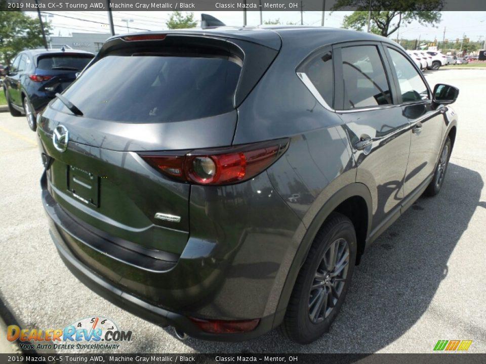 2019 Mazda CX-5 Touring AWD Machine Gray Metallic / Black Photo #7