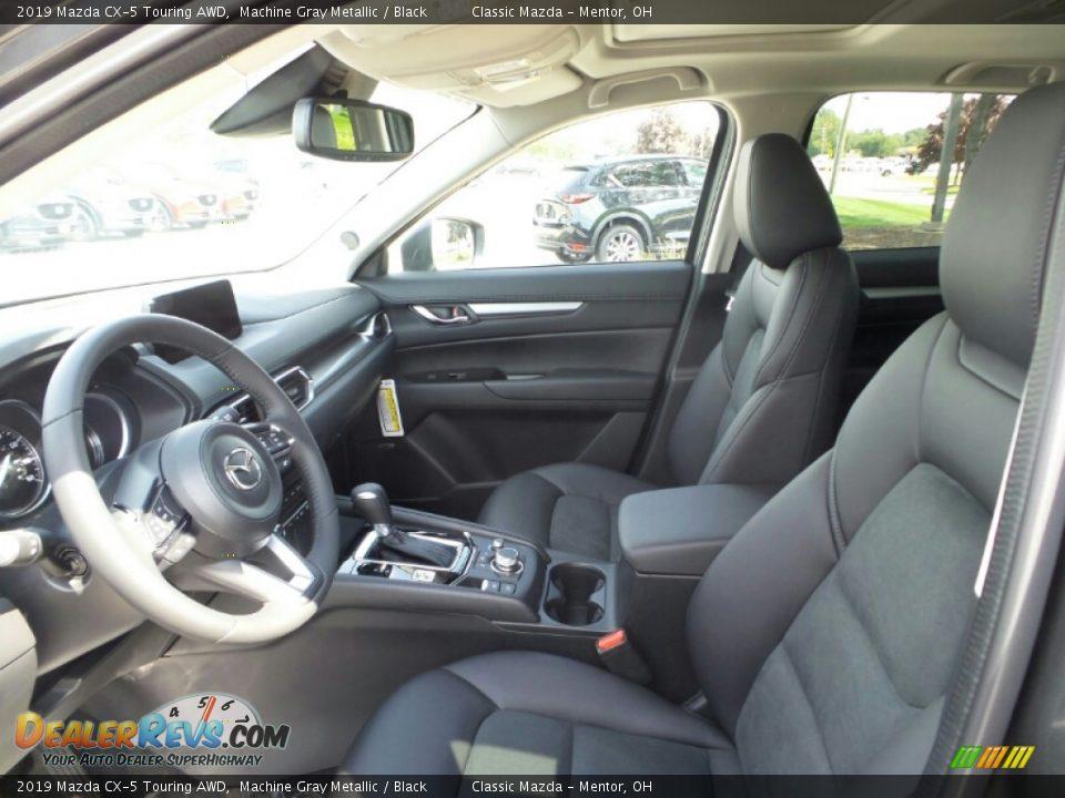 2019 Mazda CX-5 Touring AWD Machine Gray Metallic / Black Photo #8