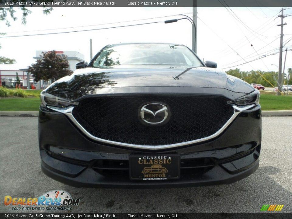 2019 Mazda CX-5 Grand Touring AWD Jet Black Mica / Black Photo #2