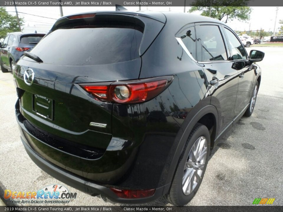 2019 Mazda CX-5 Grand Touring AWD Jet Black Mica / Black Photo #7