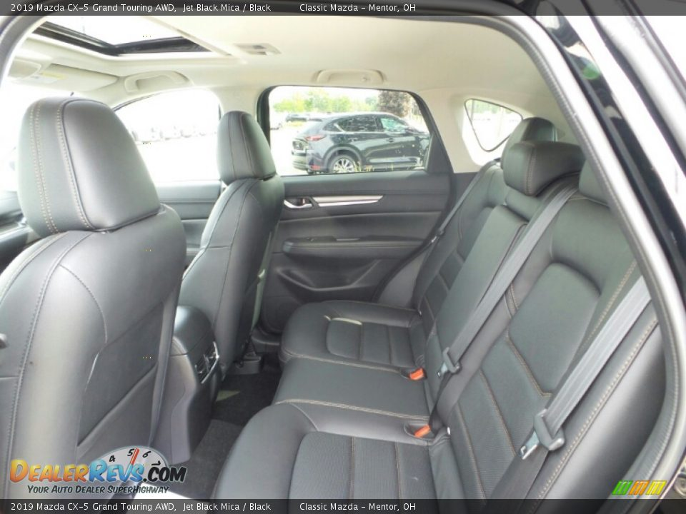 Rear Seat of 2019 Mazda CX-5 Grand Touring AWD Photo #9