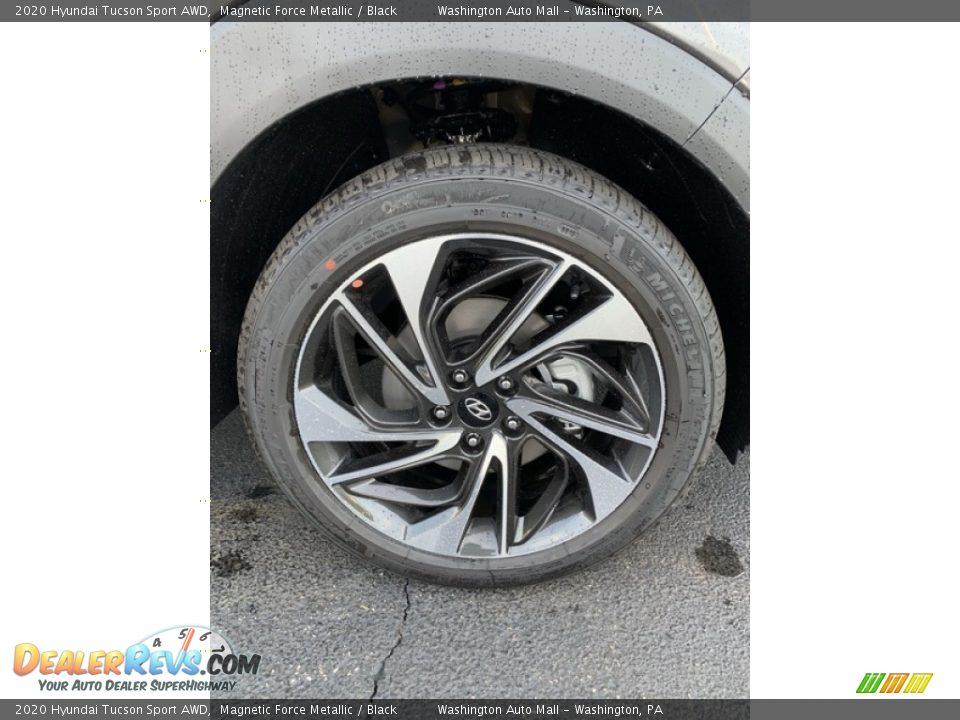 2020 Hyundai Tucson Sport AWD Magnetic Force Metallic / Black Photo #31