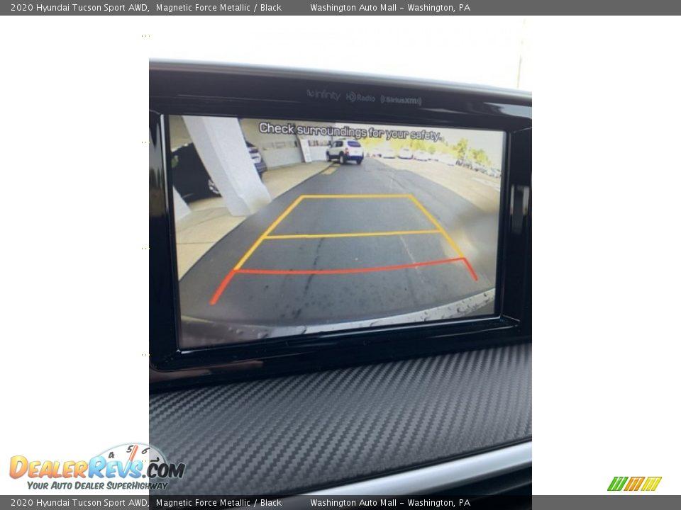 2020 Hyundai Tucson Sport AWD Magnetic Force Metallic / Black Photo #34
