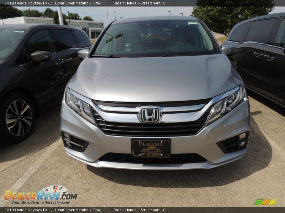 2019 Honda Odyssey EX-L Lunar Silver Metallic / Gray Photo #2