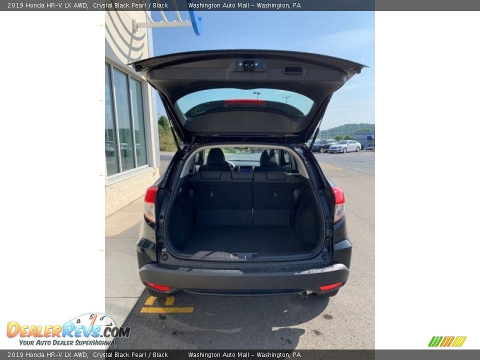 2019 Honda HR-V LX AWD Crystal Black Pearl / Black Photo #20