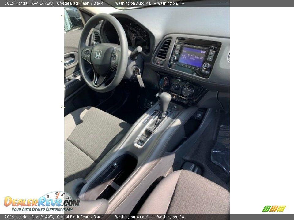 2019 Honda HR-V LX AWD Crystal Black Pearl / Black Photo #28