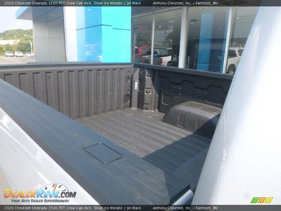 2020 Chevrolet Silverado 1500 RST Crew Cab 4x4 Silver Ice Metallic / Jet Black Photo #11